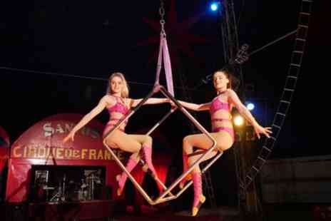 Santus Circus - Single Front Tier Ticket from 12th December To 5th January - Save 47%