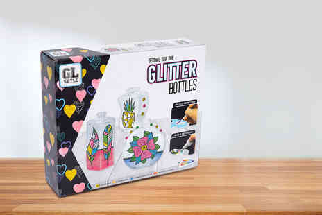 Vivo Mounts - Decorate Your Own Glitter Bottles set - Save 70%
