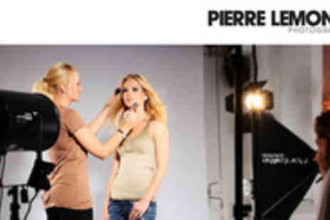 Pierre Lemond Photography - A photoshoot & MAC makeover for 2 - Save 94%