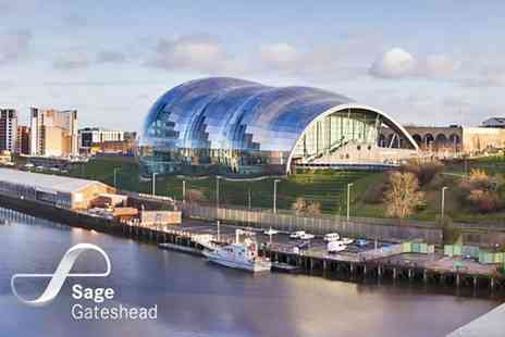 The Sage Gateshead - Afternoon tea for two people - Save 50%