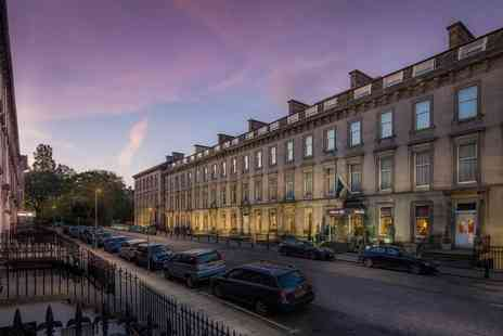 Edinburgh Grosvenor Hotel - Overnight stay for two people with breakfast, a bottle of wine and late check out - Save 50%