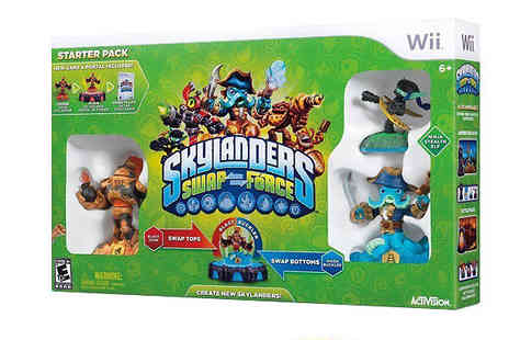 Dealberry - Skylanders Swap Force Wii Starter Pack With Collectable Cards and Characters - Save 30%