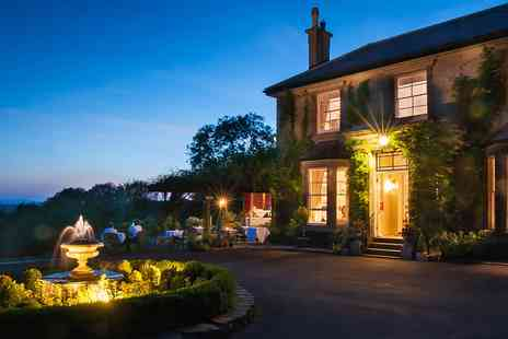 The Horn of Plenty Country House Hotel & Restaurant - Gourmet getaway including dinner - Save 35%