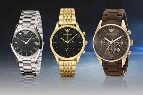 Best Watch Company - Emporio Armani watch - Save 85%