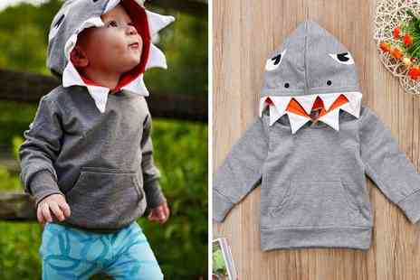 Electronic Store - Kids shark hoodie - Save 0%