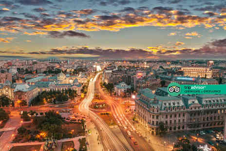Bargain Late Holidays - Four Star Escape with a two, three or four nights getaway to Bucharest Now with the ability to choose your flight - Save 0%