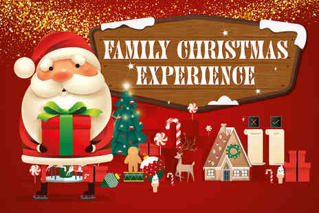 M&Ds Theme Park - Ticket for two people Family Christmas Experience including a Santas Grotto visit, gift, hot chocolate, three theme park rides, Christmas Train ticket and more - Save 50%