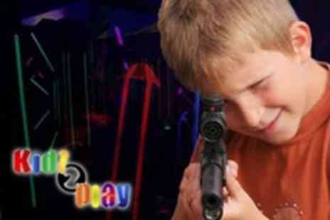 Kidz 2 Play - Laser Tag Party For Ten Children - Save 60%