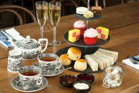 Hilton Double Tree Glasgow - Sparkling Afternoon or Weekend Afternoon Buffet Tea for Two - Save 54%