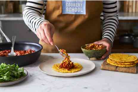 The Jamie Oliver Cookery School - Mexican Street Food Class - Save 0%