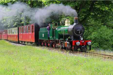 Virgin Experience Days - Kirklees Light Railway Steam Experience and Afternoon Tea for Two - Save 0%