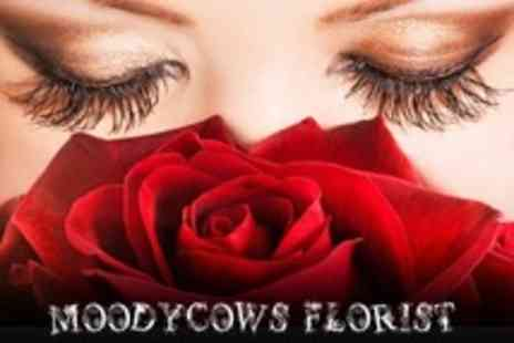 Moodycows Florist - Flower Bouquet With Lilies and Roses - Save 53%