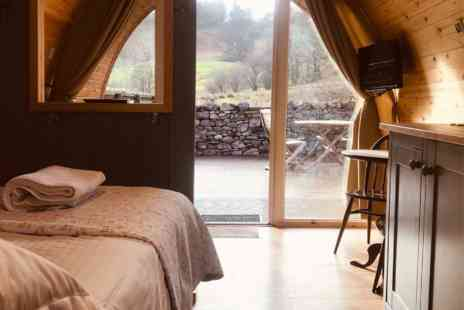 The Quiet Site - One Night Glamping Cabin Break - Save 0%