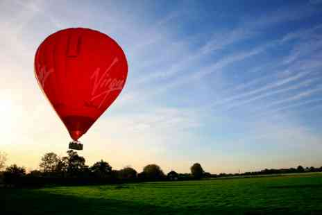 Virgin Experience Days - Weekday Sunrise Virgin Hot Air Balloon Flight for Two - Save 0%