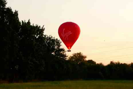 Virgin Experience Days - Weekday Sunrise Virgin Hot Air Balloon Flight for One - Save 0%