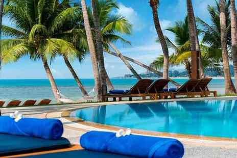 Manathai Koh Samui - Four Star Secluded Beach Escape and Optional City Break for two - Save 79%