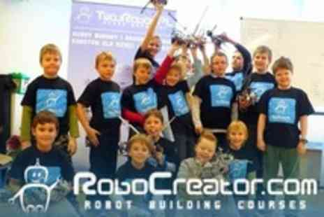 RoboCreator - Two Hour Kids Robot Building and Programming Workshop - Save 60%
