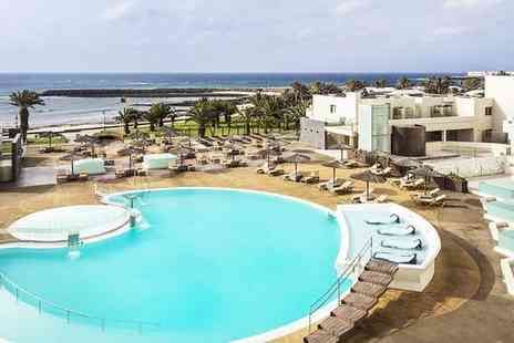 HD Beach Resort & Spa - Four Star All Inclusive Family Escape in Costa Teguise 1st Child Stays for Free for two - Save 64%