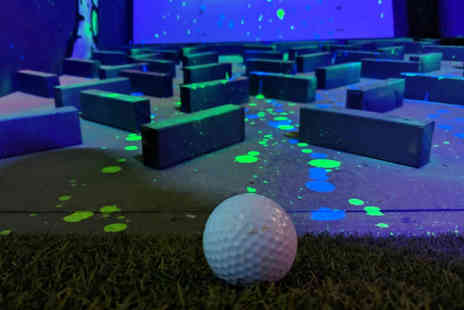 House of Holes - Round of crazy golf with a drink each for two - Save 32%