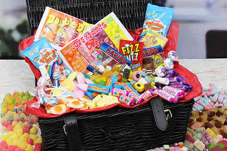 Retro Sweet - Deluxe sweet hamper with 29 varieties of retro sweets - Save 58%