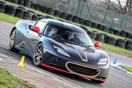 Supercar Test Drives - Three lap Lotus driving experience on a weekday - Save 81%