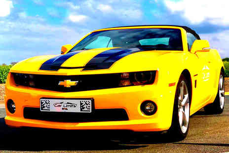 Supercar Test Drives - Three lap muscle car driving experience in a Chevrolet Camaro or Ford Mustang - Save 77%