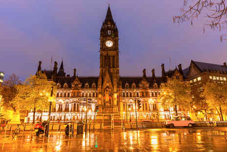 Crowne Plaza Manchester - Overnight stay for two people with breakfast and a drink on arrival - Save 22%