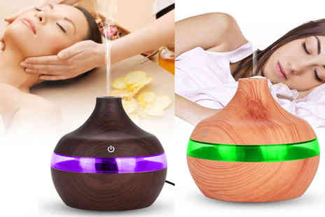 Domo Secret - Aroma essential oil electric humidifier - Save 88%