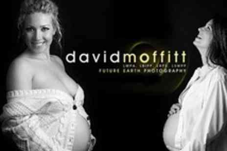 Future Earth Photography - Bump to Baby Photo Shoot With Three Sessions and Three Prints - Save 93%