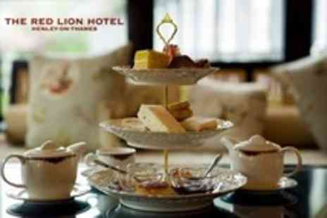 The Red Lion Hotel - Afternoon Tea By The Thames For Two With Bubbly - Save 60%