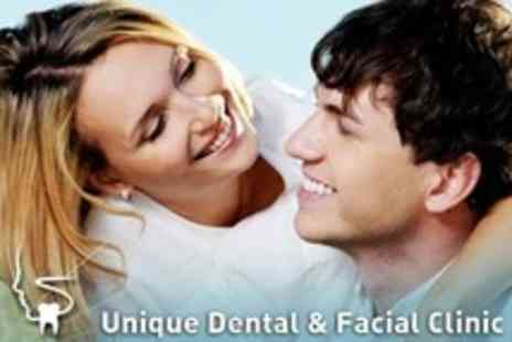 Unique Dental and Facial Clinic - Sparkle Shine and Polish Plus Examination - Save 76%