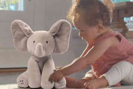 Wish Whoosh Offers - Baby animated elephant plush toy gifts - Save 0%