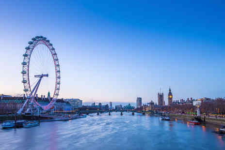 OMGhotels - Overnight London stay with breakfast and entry to Coca Cola London Eye - Save 0%