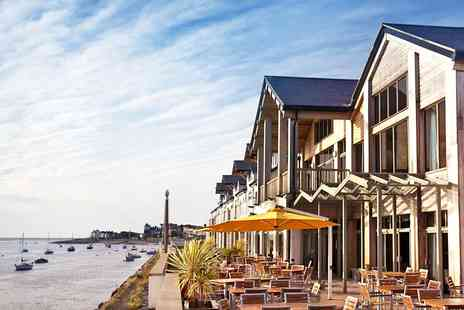 The Quay Hotel & Spa - Highly rated North Wales spa, massage, lunch and bubbly - Save 0%