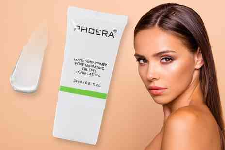 Forever Cosmetics - 24ml bottle of Phoera mattifying primer - Save 77%