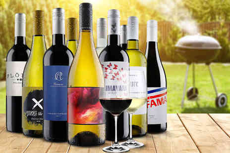 Virgin Wines - 10 bottle selection of wine choose from red, white and mixed - Save 59%