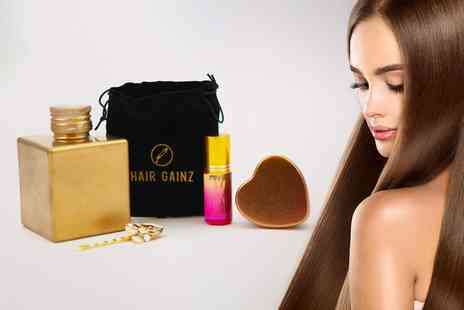 Hairganz - Gold hair oil gift set - Save 50%