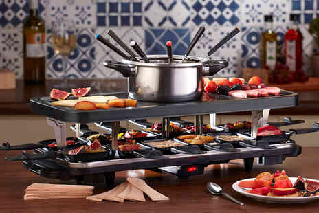 CJ Offers - Cooks Professional raclette with fondue set - Save 69%