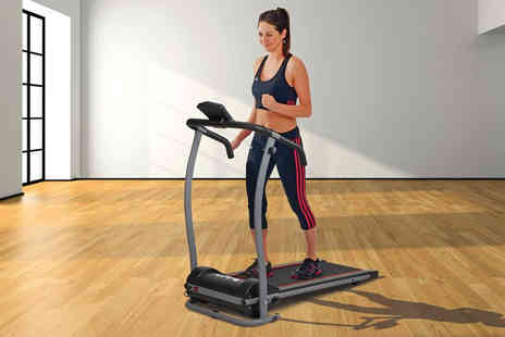 CJ Offers - Body Fit electric folding treadmill - Save 39%