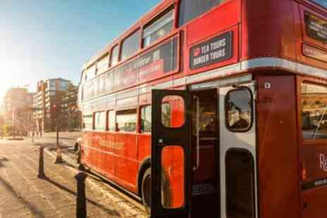 Red Bus Bistro - Afternoon Tea and Vintage Bus Tour of Edinburgh or Glasgow for Two - Save 0%