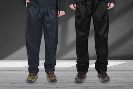 RVX & Wholesale Clearance - Pair of mens waterproof trousers - Save 0%