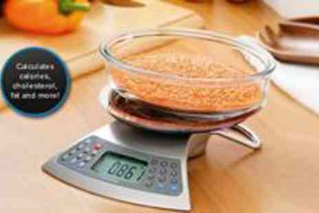 Premier Housewares - Electronic stainless steel kitchen scales - Save 0%