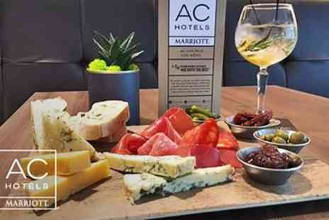 AC Hotel Manchester Salford Quays - Gin Tasting and Sharing Board for Two - Save 62%