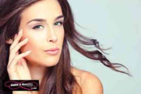Nails and Beauty - Deluxe eyebrow package inc. wax, restyle, trim, tint & ILAH powder finish - Save 50%