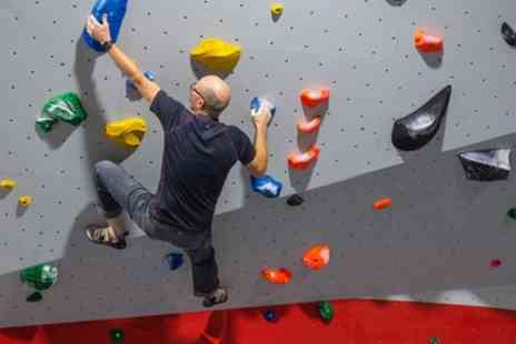 The Climbing Academy - Indoor Climbing Package for Up to Four - Save 64%
