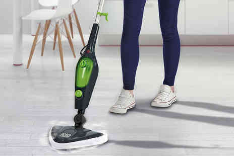 CJ Offers - 1500W easy steam mop - Save 40%