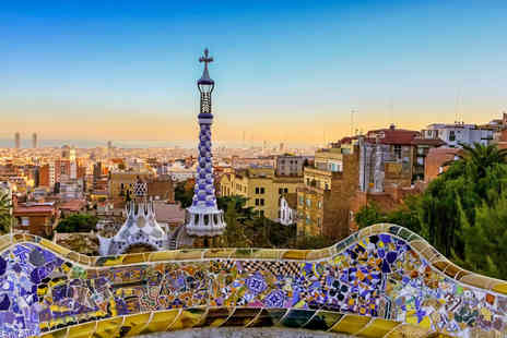 Weekender Breaks - Two nights Barcelona break with Park Guell tour and return flights - Save 41%