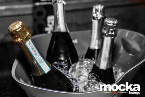 Mocka Lounge - 60 minutes of bottomless Prosecco and a two course lunch for two people - Save 55%