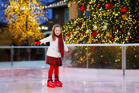 City Island Ice Rink - ice skating session and skate hire this December - Save 0%