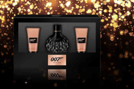 Wowcher Direct - James Bond 007 for women gift set - Save 43%